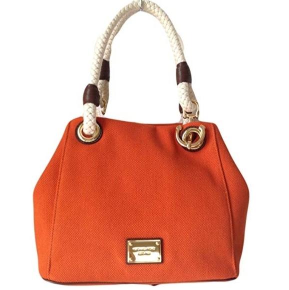 d8e2934bd73d Michael Kors Bags | Marina Tangerine Anchor Tote | Poshmark